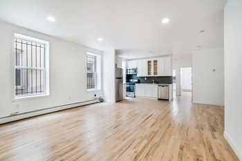 Gut Renovated Queen Size 4 Bed/ 1.5 Bath Apt in Crown Heights Parking Available